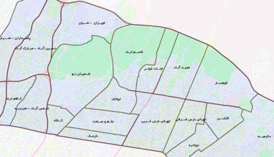 لیست سازندگان منطقه چهار تهران