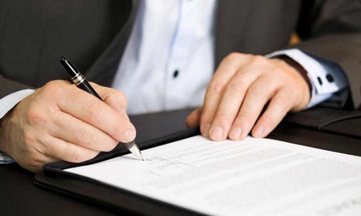نوشتن مبایعه نامه