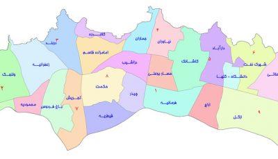 لیست و شماره تلفن سازندگان ساختمان منطقه یک تهران